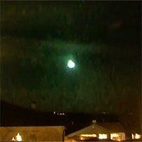 Thiên thạch 5 tấn nổ tung trên bầu trời Thụy Điển