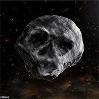 Thiên thạch đầu lâu lại ghé ngang trái đất vào sau lễ Halloween sắp tới đây