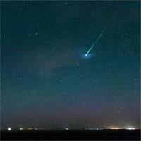 Thiên thạch phát nổ trên bầu trời Pháp