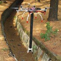 Thiết bị bay với cánh tay dài gần một mét có thể xếp gọn