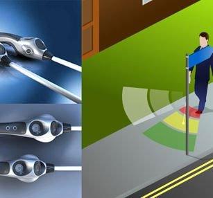 Thiết bị giúp người mù đi xe đạp