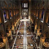 Thiết kế dễ bắt lửa của Nhà thờ Đức Bà Paris