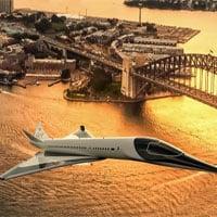 Thiết kế máy bay siêu thanh tốc độ 2.346km/h