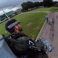 Thử nghiệm chặn tội phạm bằng bộ đồ bay phản lực