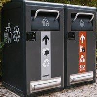 Thùng rác thông minh chạy bằng năng lượng mặt trời