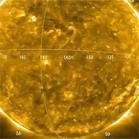 Thước phim đầu tiên về vụ phun trào trên Mặt trời