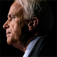 Thượng nghị sĩ John McCain mắc ung thư não thể nguy hiểm nhất