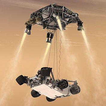 Tiếp tục đưa robot Curiosity lên sao Hỏa