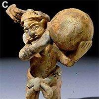 Tiết lộ bí mật thú vị về bức tượng cổ của người Maya
