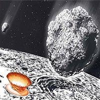 Tiểu hành tinh 100km trút mưa thiên thạch khổng lồ xuống Trái Đất