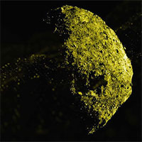 Tiểu hành tinh đường kính 500m phun đá ra không gian