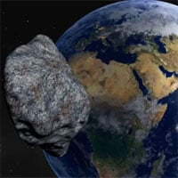 Tiểu hành tinh vận tốc 85.000km/h