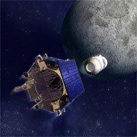 Tìm kiếm nước trên mặt trăng nhờ các thiết bị thăm dò không gian