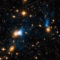 Tìm thấy đuôi thiên hà bí ẩn dài gấp 2 thiên hà Milky Way