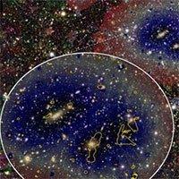 Tìm thấy sợi khí giữa các thiên hà dài nhất vũ trụ