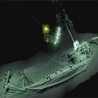 Tìm thấy xác tàu cổ nhất còn nguyên vẹn ở Biển Đen