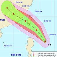 Tin bão gần biển Đông: Cơn bão Bailu, Bắc Bộ và Bắc Trung Bộ mưa dông