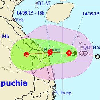 Tin bão gần bờ: Cơn bão số 3 xuất hiện, hướng đi vào Đà Nẵng - Quảng Ngãi