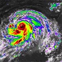 Tin mới nhất về song bão châu Á: 2 cơn bão