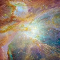 Tinh vân Orion rực rỡ giống