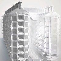 Tòa nhà tự làm mát đầu tiên trên thế giới