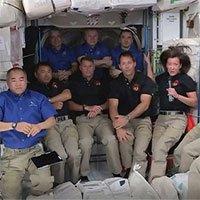 Trạm ISS đông người nhất trong hơn một thập kỷ