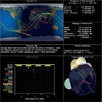 Trạm không gian Trung Quốc bốc cháy trên bầu trời Nam Đại Tây Dương
