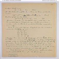 """Trang bản thảo bị mất về """"Thuyết vạn vật"""" của Einstein đã được tìm thấy"""