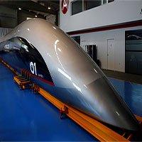Trình làng tàu siêu tốc đầu tiên trên thế giới chạy nhanh hơn máy bay