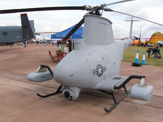 Trực thăng không người lái bay bằng nhiên liệu sinh học