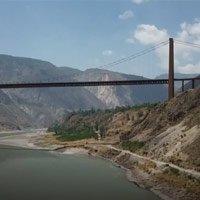 Trung Quốc hoàn thiện cầu treo chịu được động đất mạnh 9 độ