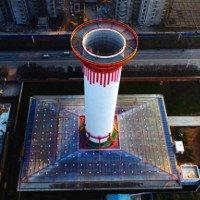 Trung Quốc vận hành thành công ống khói '