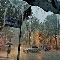 Từ đêm nay (5/6) Bắc bộ sẽ có mưa, có nơi mưa rất to
