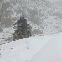 Tuyết dày 20cm lần đầu xuất hiện tại Nghệ An