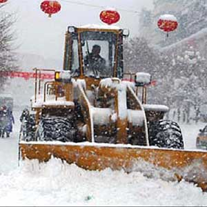 Tuyết rơi dày kỷ lục ở vùng phía Đông Hàn Quốc