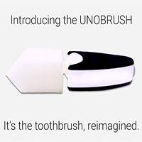 UNOBRUSH: Bàn chải que kem, ngậm 6 giây là răng miệng sạch bong không cần chải