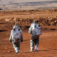 Vào miệng núi lửa Israel để mô phỏng sự sống trên sao Hỏa