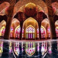 Vẻ đẹp mê hoặc của các nhà thờ Hồi giáo ở Iran