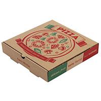 Vì sao bánh pizza hình tròn lại được đựng trong hộp hình vuông?
