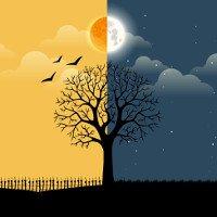 Vì sao có hiện tượng ngày và đêm?
