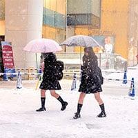 Vì sao nữ sinh Nhật luôn mặc váy ngắn đi học kể cả trong mùa đông?