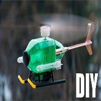 Video: Cách làm máy bay trực thăng cực đơn giản