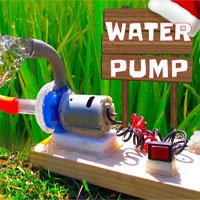 Video: Cách tự làm máy bơm nước mini tại nhà