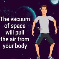 Video: Không đồ bảo vệ, con người có thể sống bao lâu trong vũ trụ?
