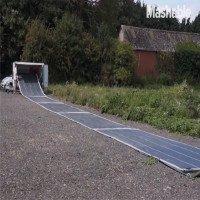 Video: Pin năng lượng Mặt Trời có thể cuộn lại và mang theo
