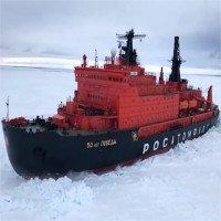 Video: Sức mạnh tàu nguyên tử phá băng mạnh nhất thế giới
