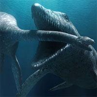 Video: Thủy quái đáng sợ nhất kỷ Jura ra đòn xé nát con mồi trong chớp mắt