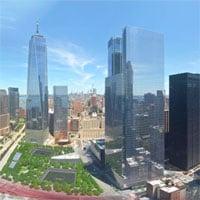 Video timelapse ghi lại quá trình 20 năm tái thiết Trung tâm Thương mại Thế giới, ghép bằng 13,3 triệu bức ảnh