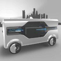 Video: Xe tải giao hàng tự động bằng máy bay không người lái