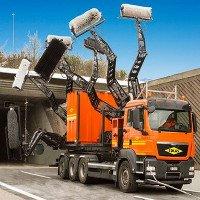 Video: Xem cách cỗ máy này dọn dẹp đường hầm trắng sạch như mới làm
